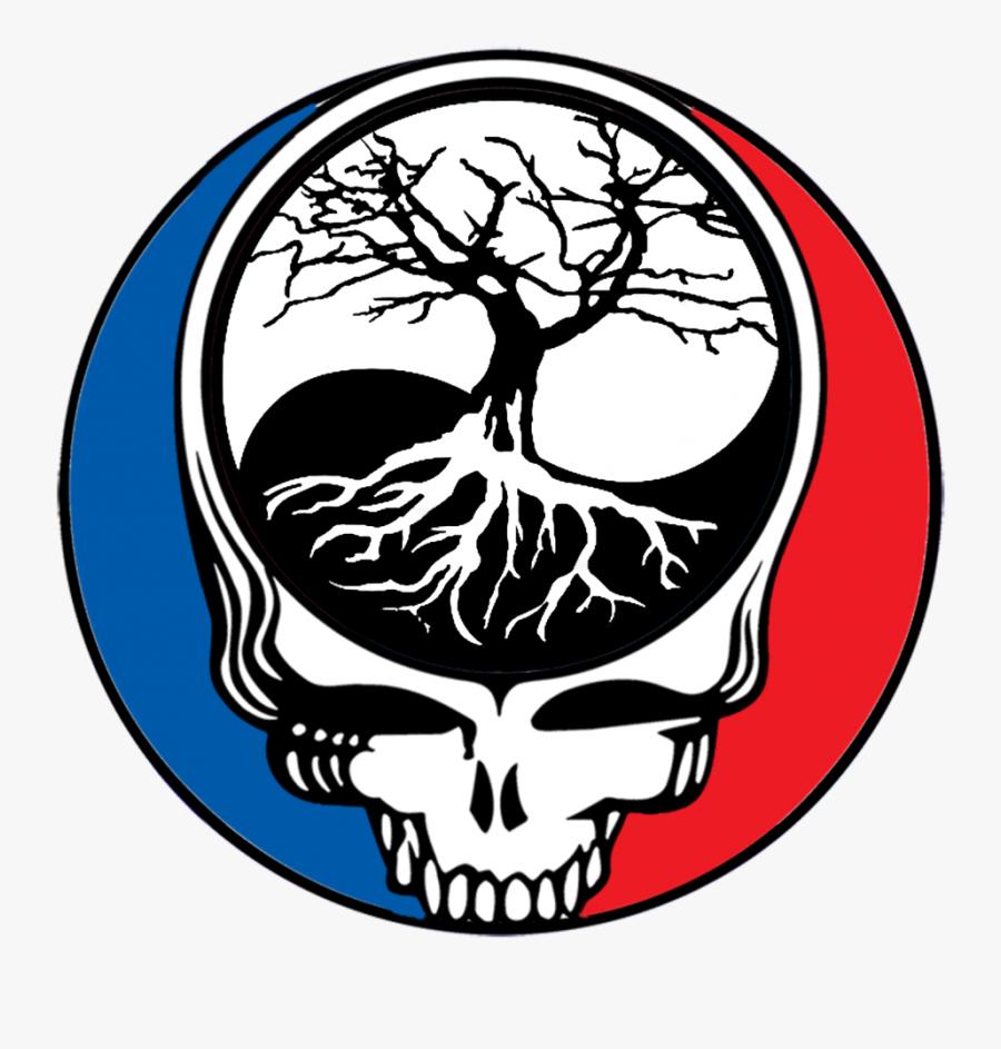 Grateful Dead Steal Your Face, Transparent Clipart