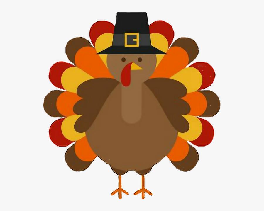 #thanksgiving #turkey #pilgrim - November Clipart, Transparent Clipart