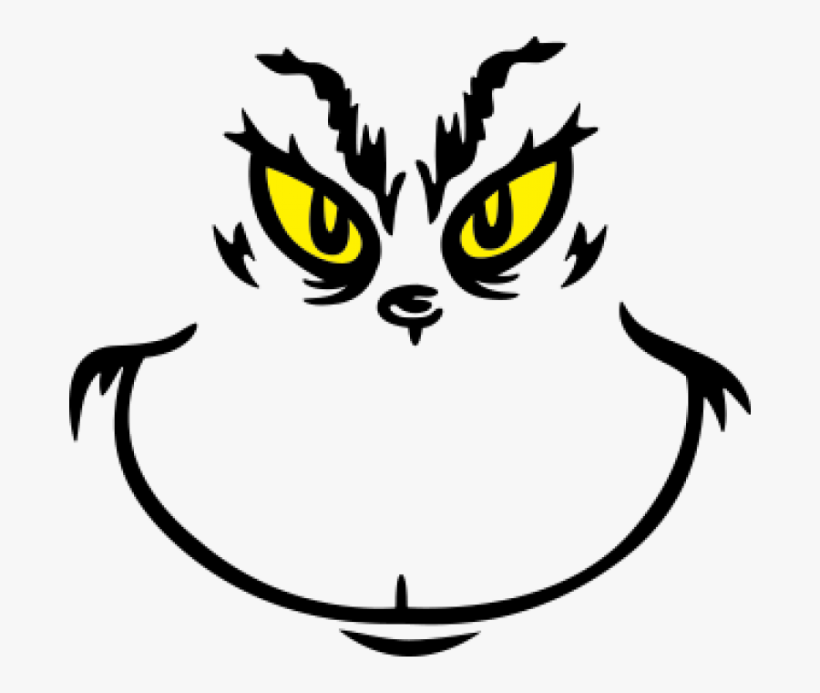 Grinch Face Grinch Face Svg Free Transparent Clipart Clipartkey