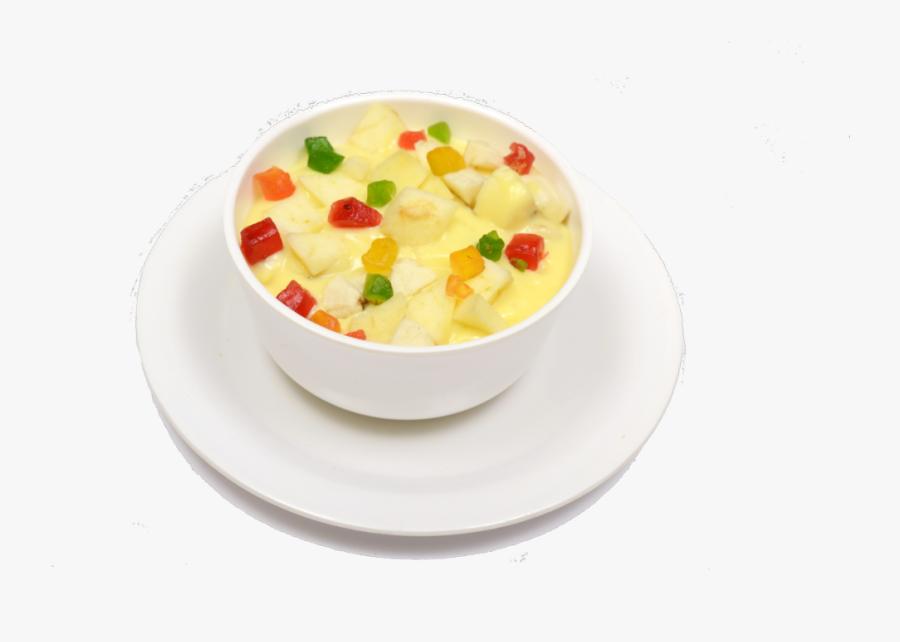 Fruit - Custard - Radhikas - Images - Desert - South - Custard Fruit Salad Png, Transparent Clipart