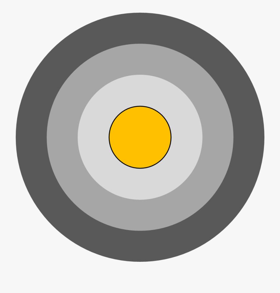 Bullseye Chart Tableau, Transparent Clipart
