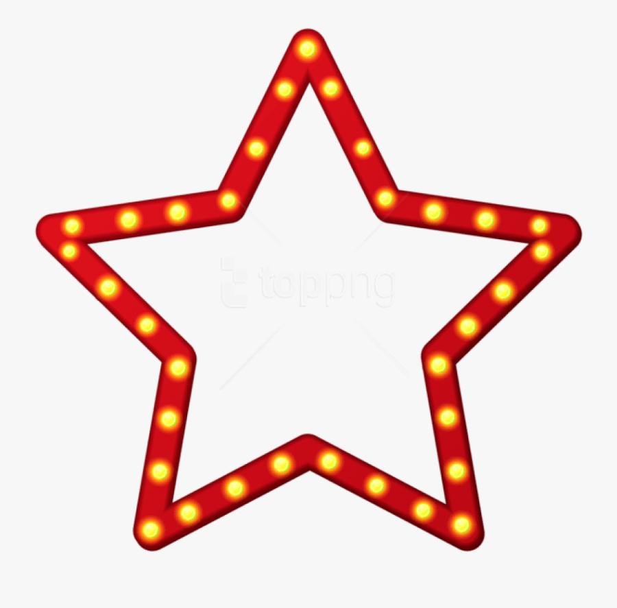 Stars Border Png - Blue Star Frame Image Transparent Background, Transparent Clipart
