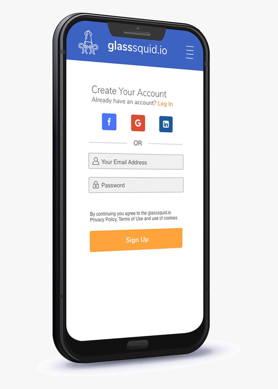 Transparent Squid Png - Mobile Phone, Transparent Clipart
