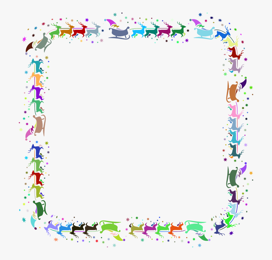 Picture Frame,flower,area - Page Border Design Png, Transparent Clipart