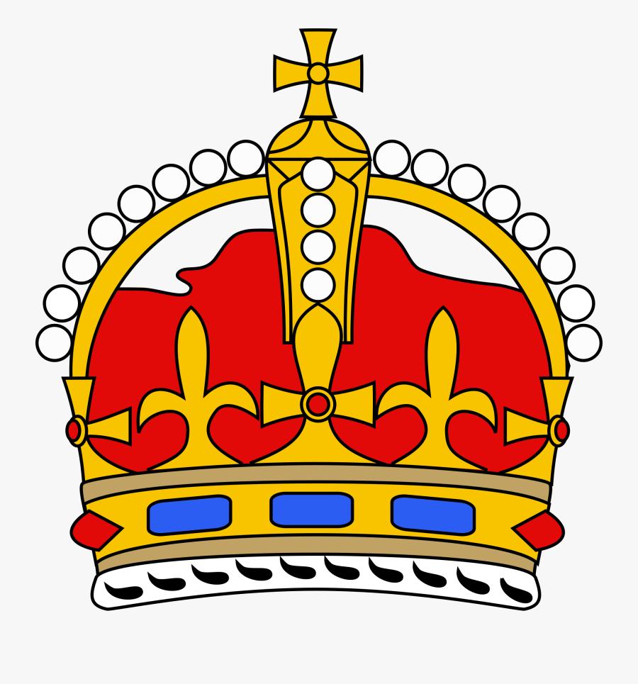 Crowns Clipart Drawn - Royal Crown Simple, Transparent Clipart