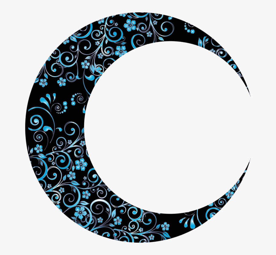 Plate,turquoise,visual Arts - Crescent Moon Png, Transparent Clipart