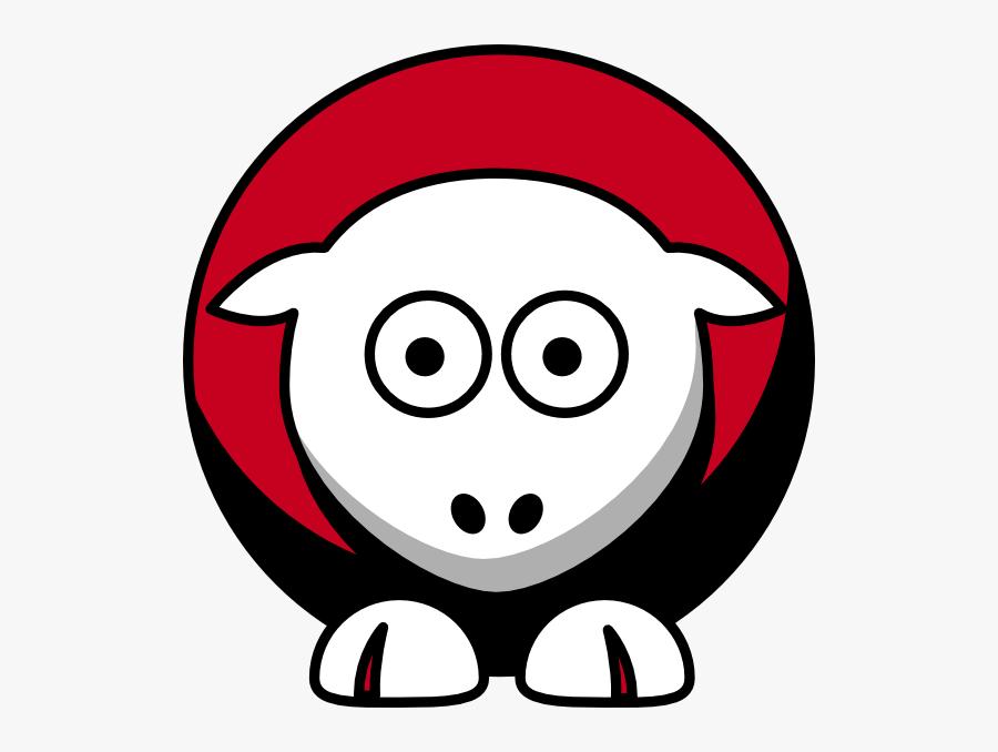 Sheep Cincinnati Reds Team Colors Svg Clip Arts - Arkansas State Red Wolves Colors, Transparent Clipart
