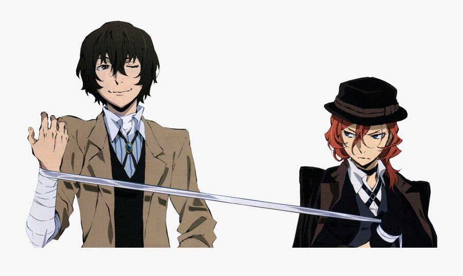 Bungou Stray Dogs Wallpaper Hd Png Download Chuuya And Dazai Height Difference Free Transparent Clipart Clipartkey