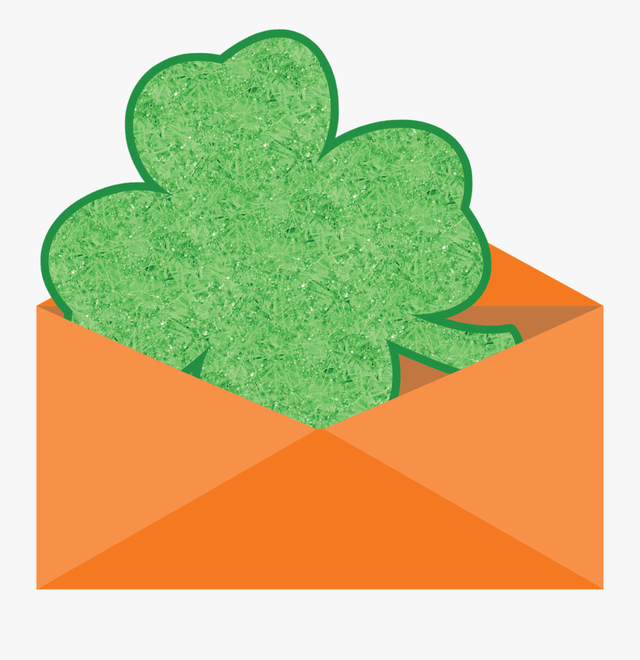 "St Patrick""s Day - Shamrock, Transparent Clipart"