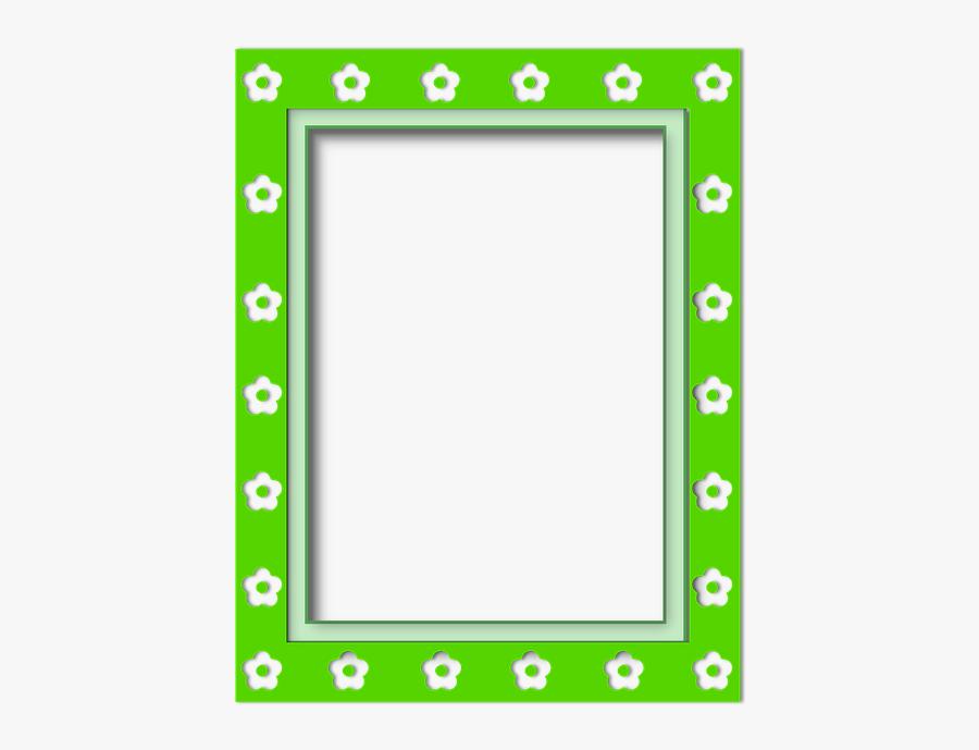 Framework, Box, Decoration, Frame Photo, Flowers - Picture Frame, Transparent Clipart