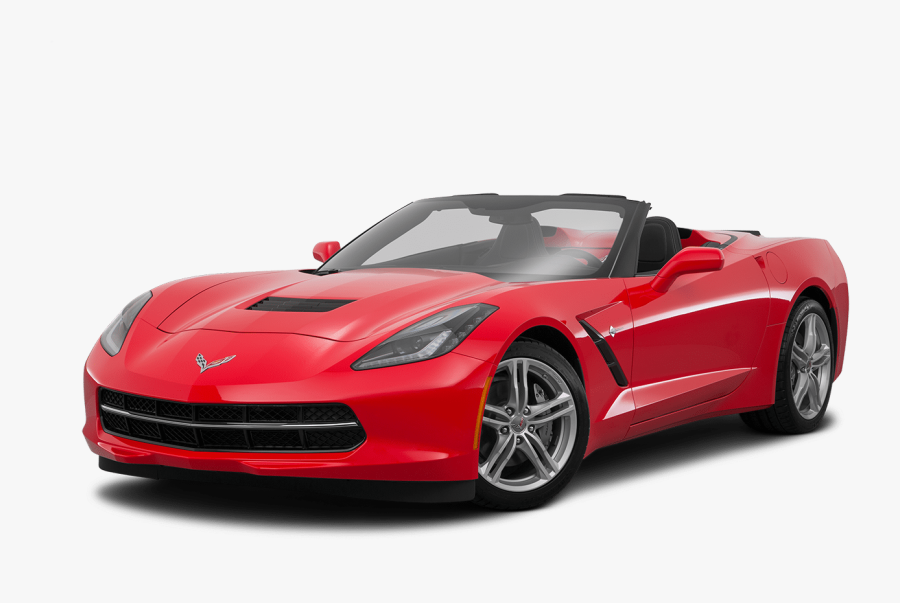 Convertible Red Corvette Car Png Free Transparent Clipart Clipartkey