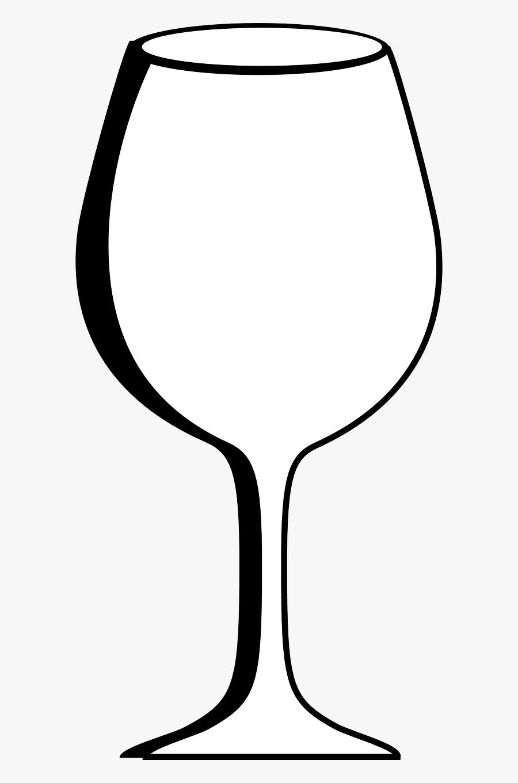 Glass Wine Empty Free Picture - Verre De Vin Vide Png, Transparent Clipart
