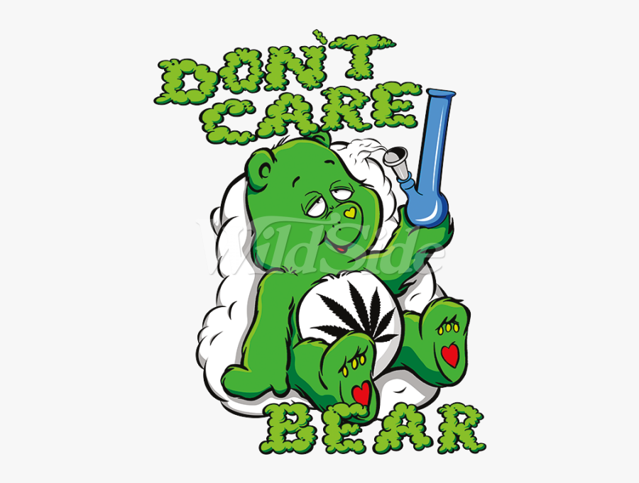 Green Clipart Care Bear - Dont Care Care Bear, Transparent Clipart