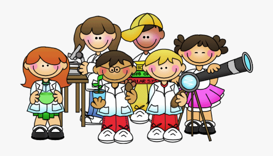 Transparent Çocuk Clipart - Science Kids Cartoon, Transparent Clipart