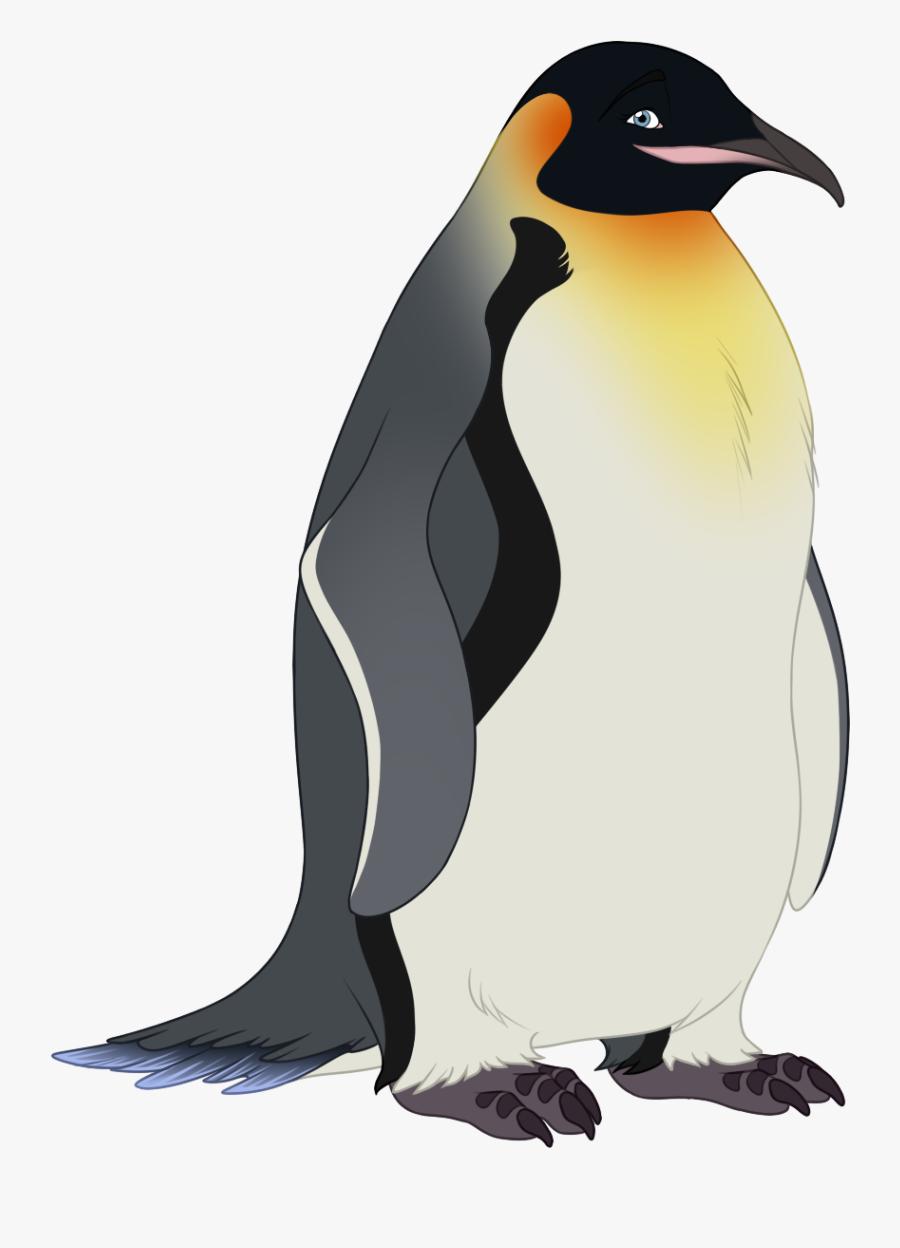 Transparent Emperor Clipart - King Penguin, Transparent Clipart