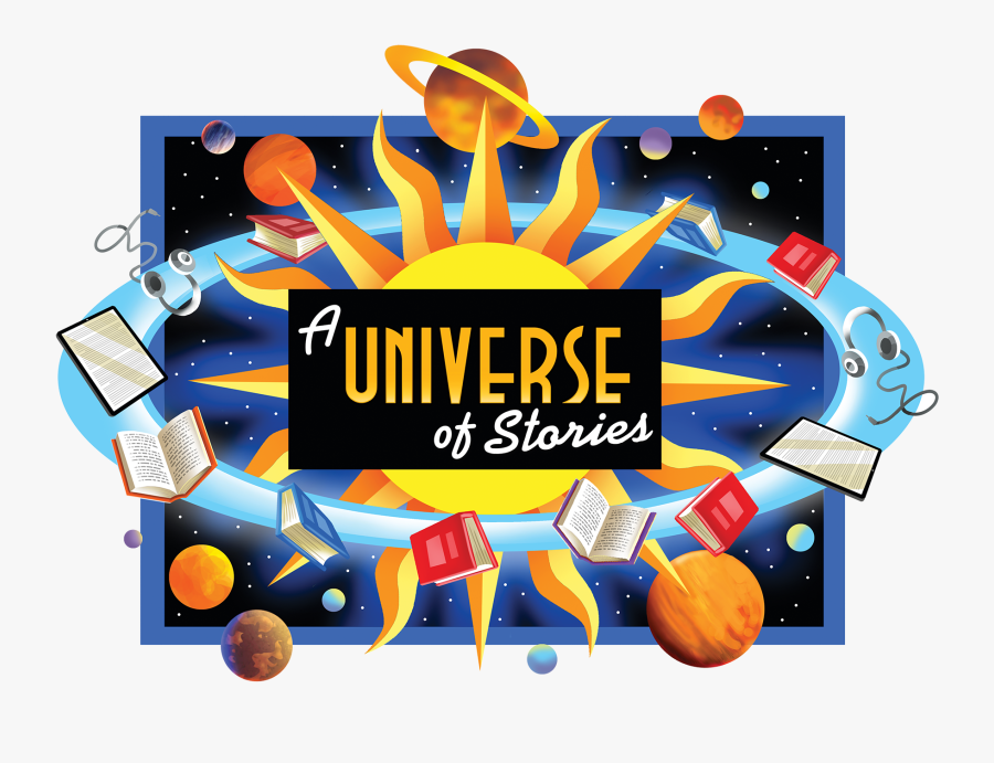 Adult Summer Reading - Summer Reading A Universe Of Stories, Transparent Clipart
