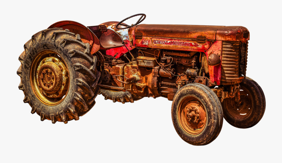 Tractor Png Transparent Hd Photo - Tractor Old, Transparent Clipart