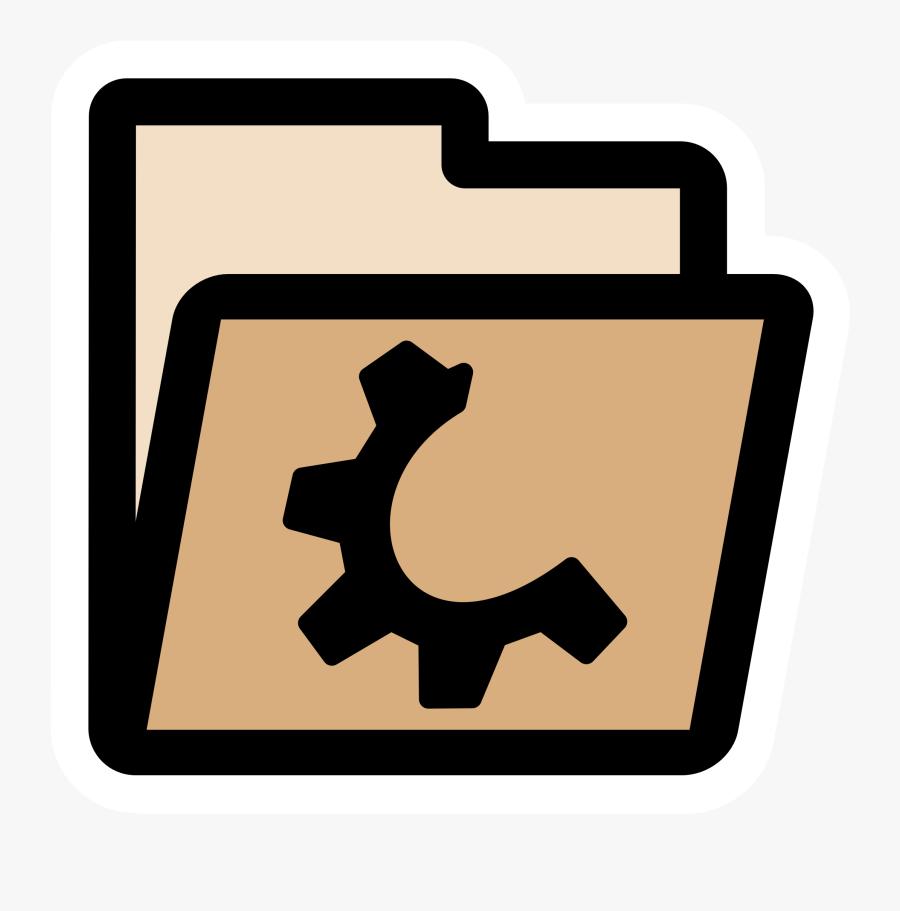 Primary Folder Closed Clip Arts - Directory Computer Logo Icon, Transparent Clipart