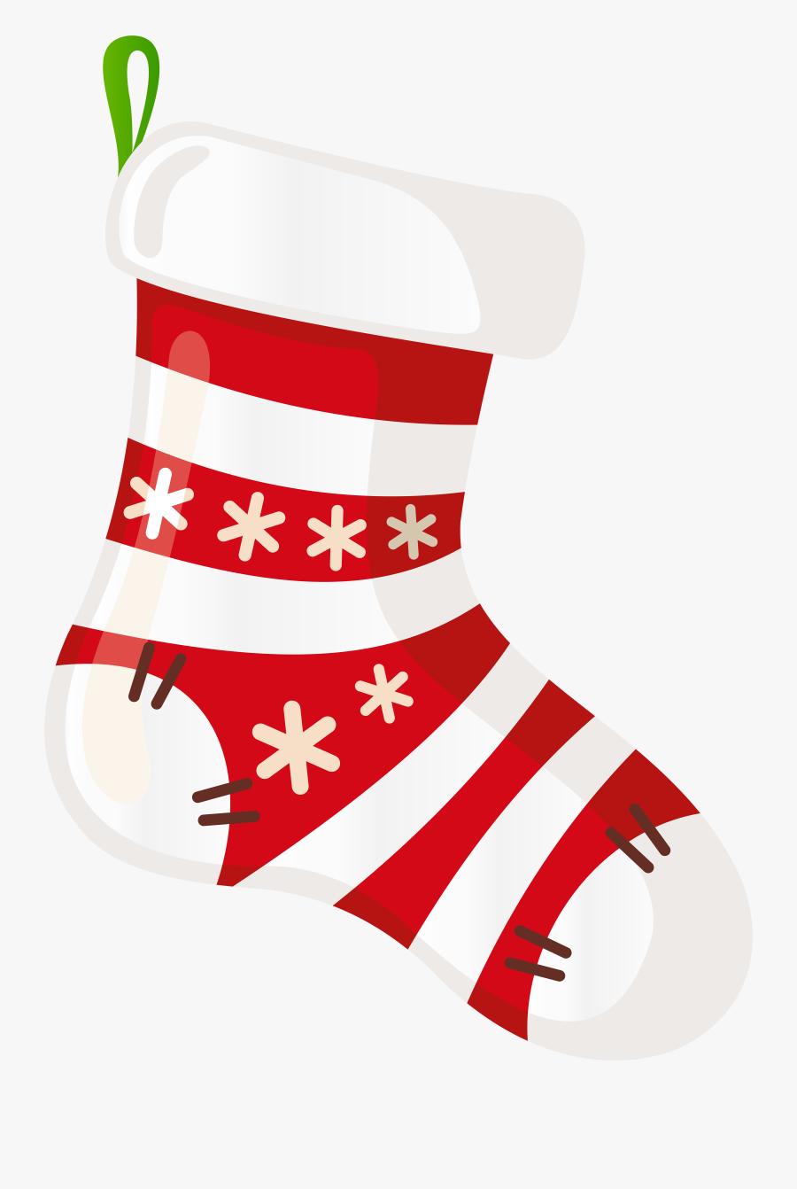 Transparent Stocking Clip Art - Christmas Stocking Png Transparent, Transparent Clipart