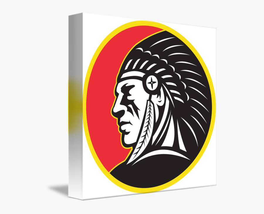 Clip Art Indian Chief Pictures - Wesclin Middle School Mascot, Transparent Clipart