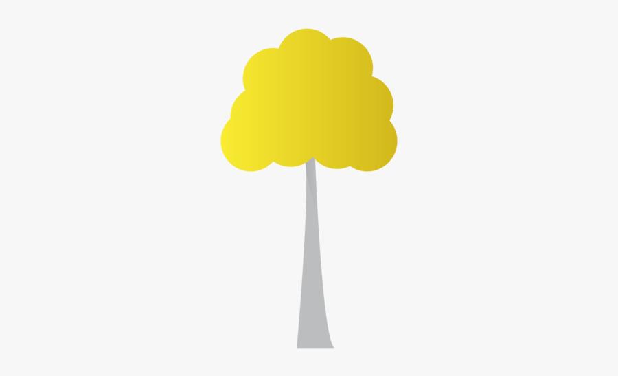 Aspen Tree Logo Clipart Aspen Tree Illustration Flat - Illustration, Transparent Clipart