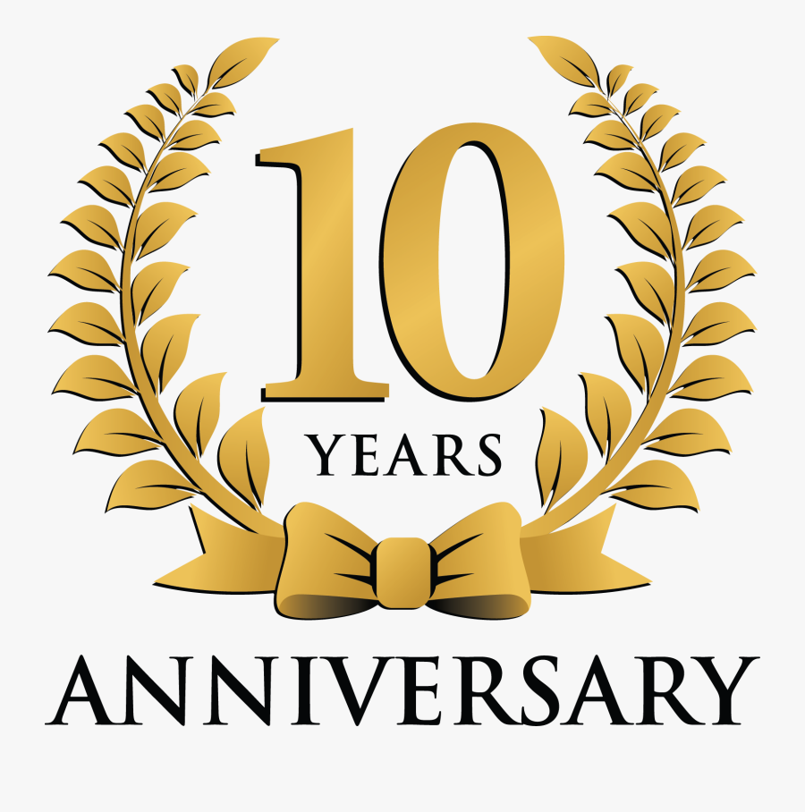 Transparent 10 Years Clipart 1st Year Anniversary Logo Png Free Transparent Clipart Clipartkey