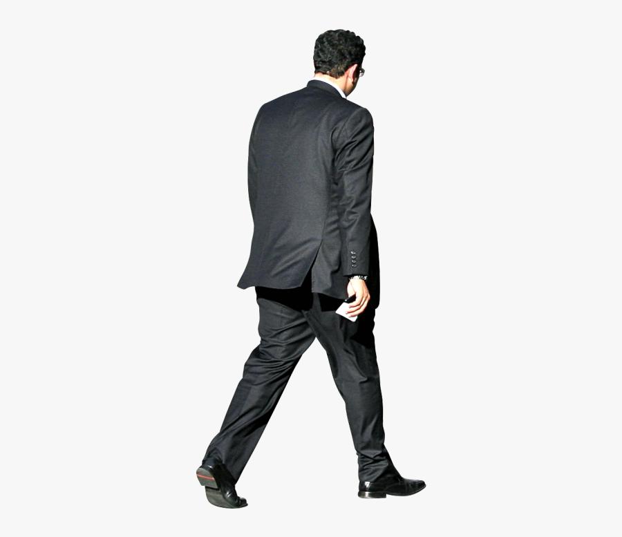 Clip Art Outside Alex Proimos Cc - Man In Suit Walking Png, Transparent Clipart