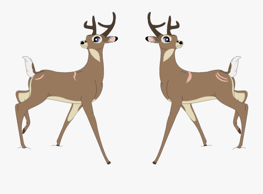 White Tailed Deer Paintings Download - Bambi The White Tailed Deer, Transparent Clipart
