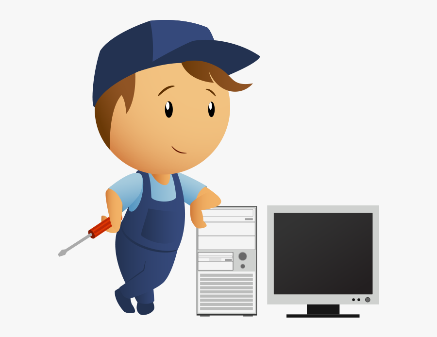 Email Clipart Computer Repair - Career Opportunities For Computer Hardware Servicing, Transparent Clipart