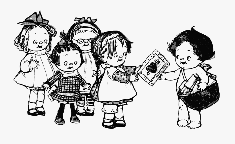 Silly Friends Clipart Black And White, Transparent Clipart