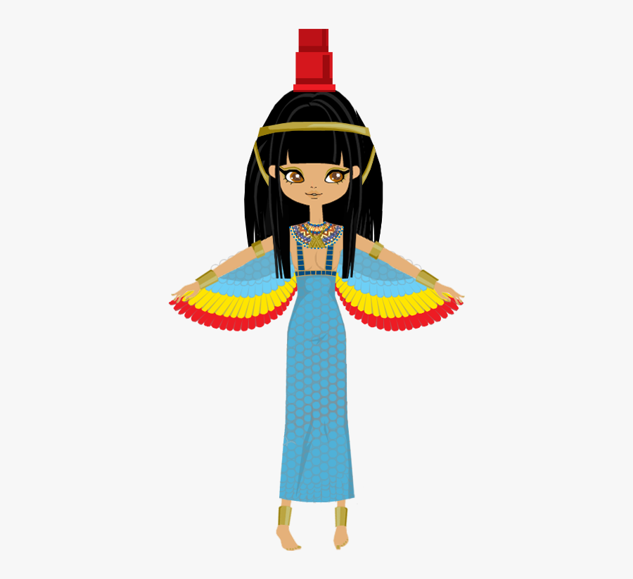 Pin By Stacy Snyder On My Stuff Egyptian Goddess - Isis Egyptian Goddess Cartoon, Transparent Clipart