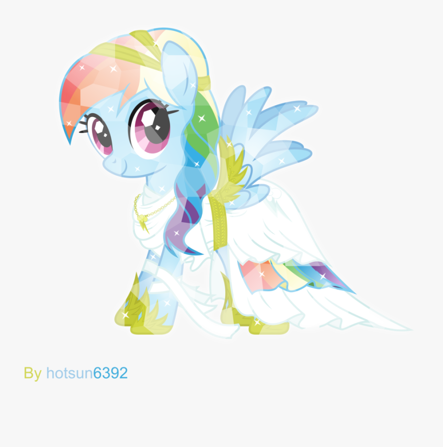 Our Rainbow Dash Is Extremely Similar To The Goddess - God Of Rainbows Greek, Transparent Clipart