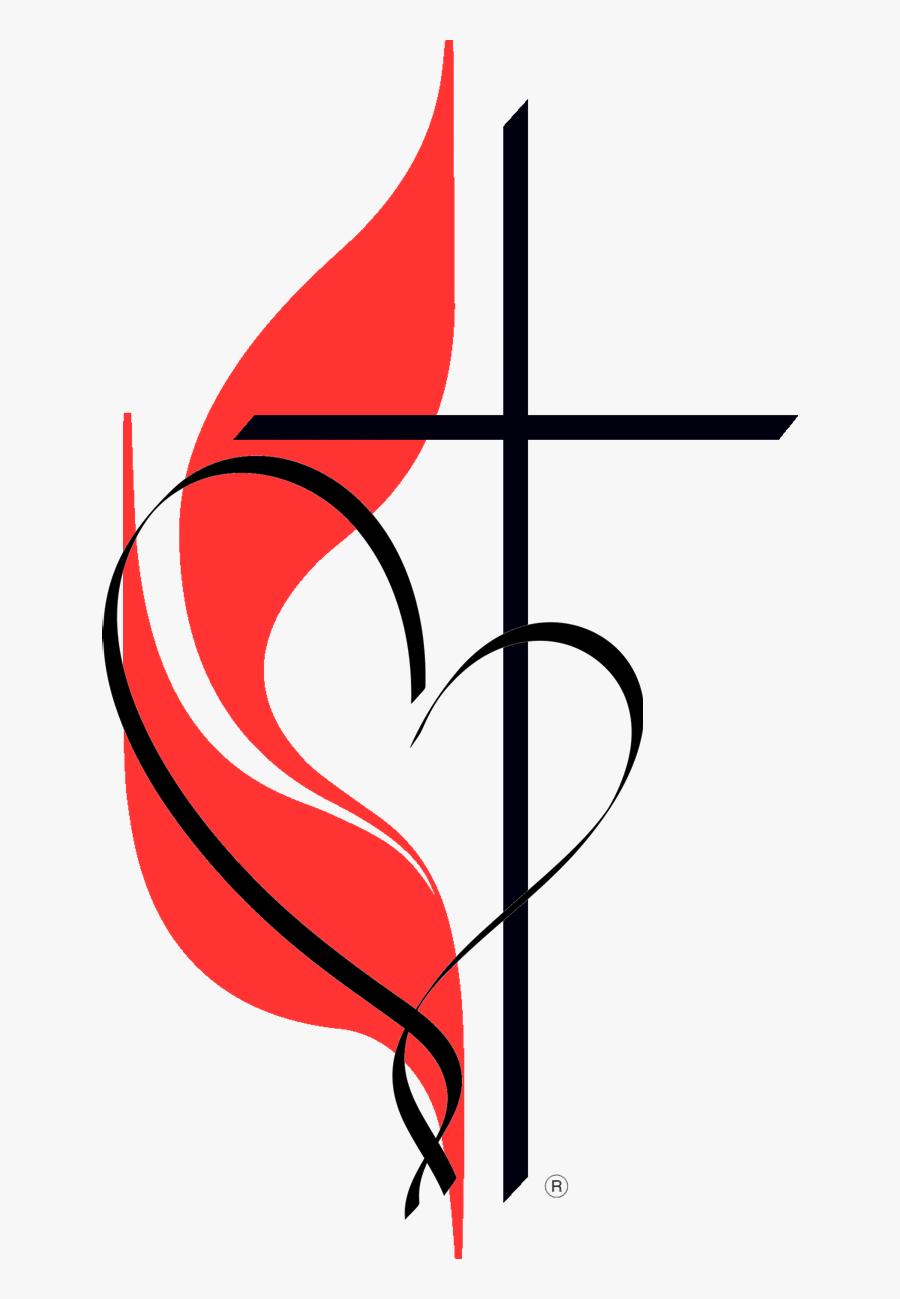 Cross Heart Png1 - Community United Methodist Church, Transparent Clipart