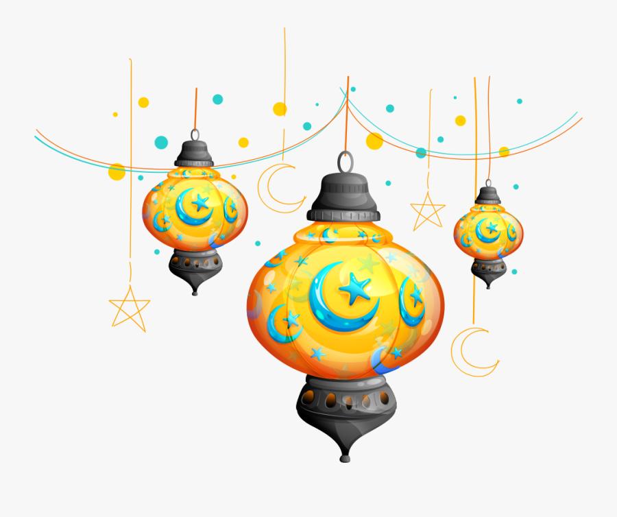 Transparent Eid Png - Eid Mubarak Vector Png, Transparent Clipart
