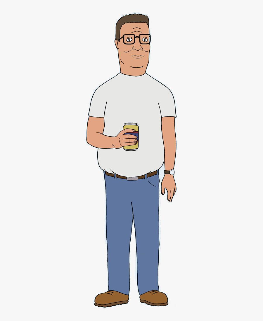 Hank Of Wiki Fandom - Hank Hill, Transparent Clipart