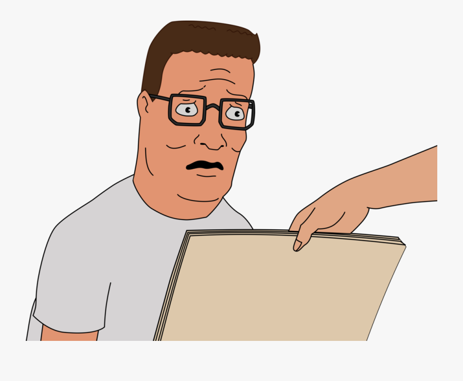 Transparent Over The Hill Clipart - Hank Hill Png, Transparent Clipart