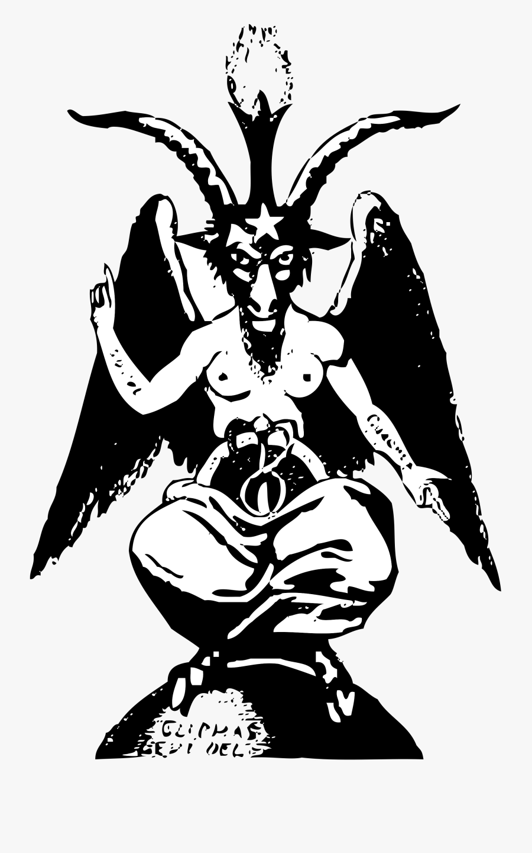 Of Symbol Satanism Theistic Satan Church Baphomet Clipart - Baphomet Png, Transparent Clipart