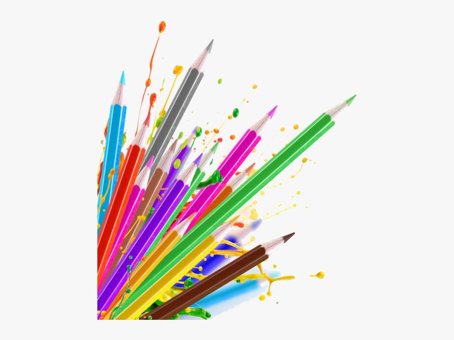 Crayons De Couleurs Articles - Colour Pencil Drawing Png, Transparent Clipart