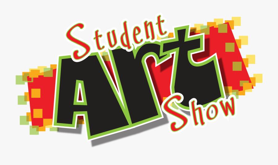 Art Show Clipart - Student Art Show Logo, Transparent Clipart