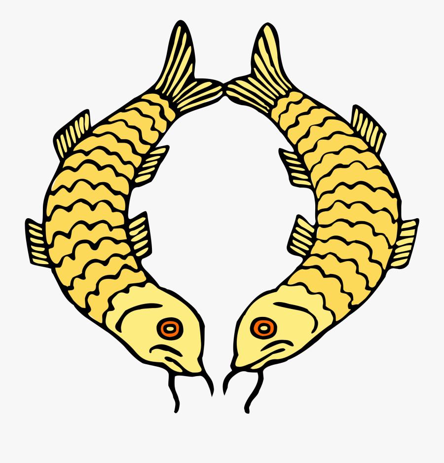 Transparent Buddhism Clipart - Golden Fish Buddhism Symbol, Transparent Clipart