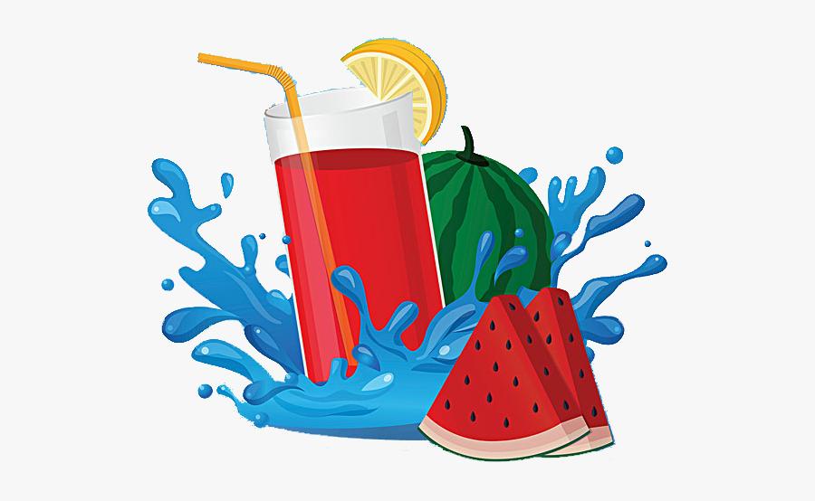 Juice Fruchtsaft Drawing Clip - Jugos De Frutas Animados, Transparent Clipart