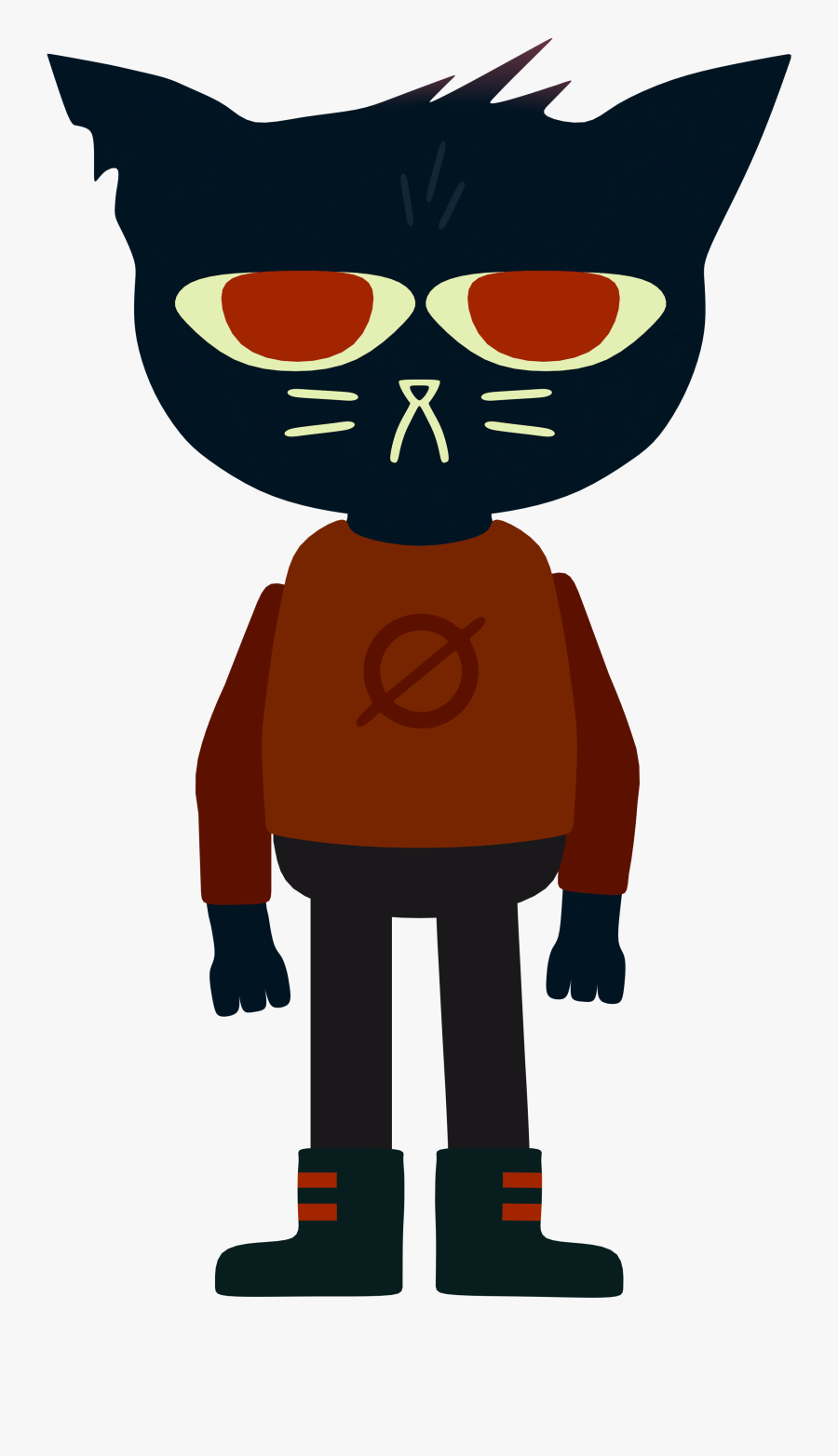 Night In The Woods Png Photos - Cat Night In The Woods, Transparent Clipart