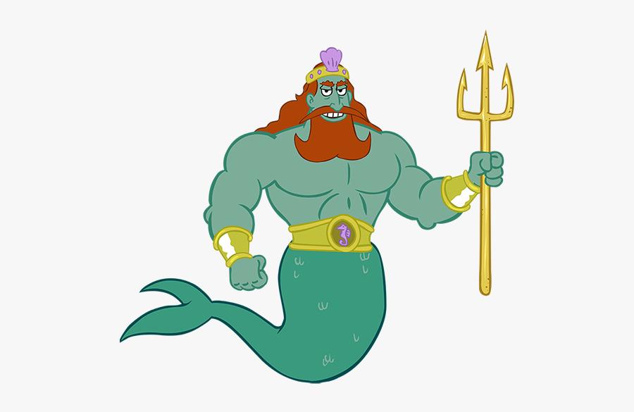 Spongebob Squarepants Characters King Neptune Spongebob