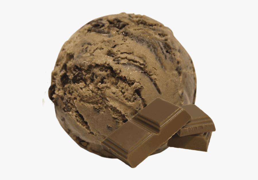 Chocolate Ice Cream, Transparent Clipart