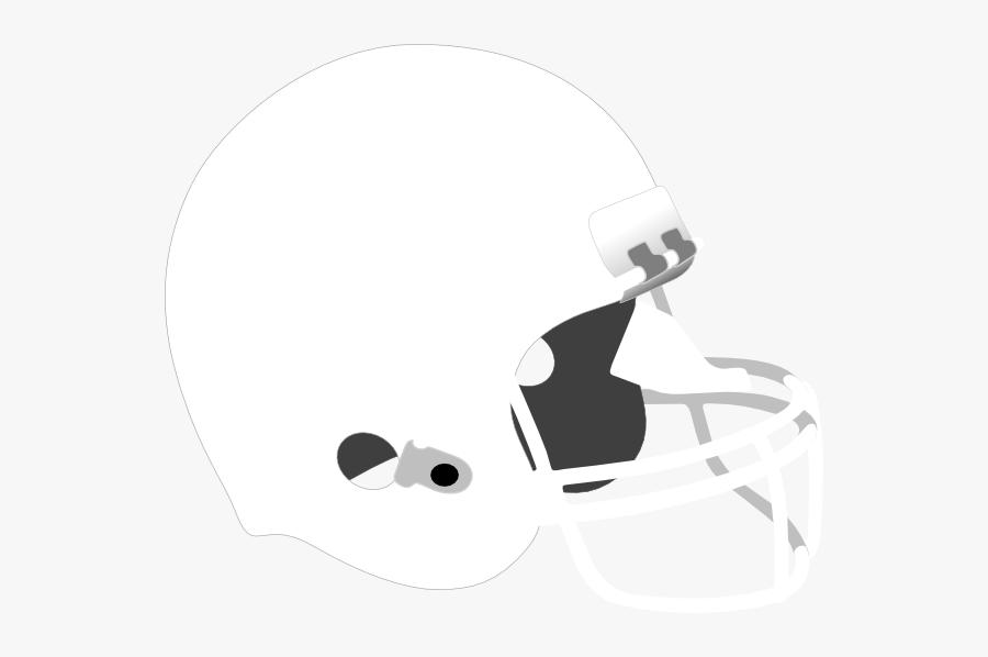 Transparent Football Helmet Clip Art - White Football Helmet Clipart, Transparent Clipart