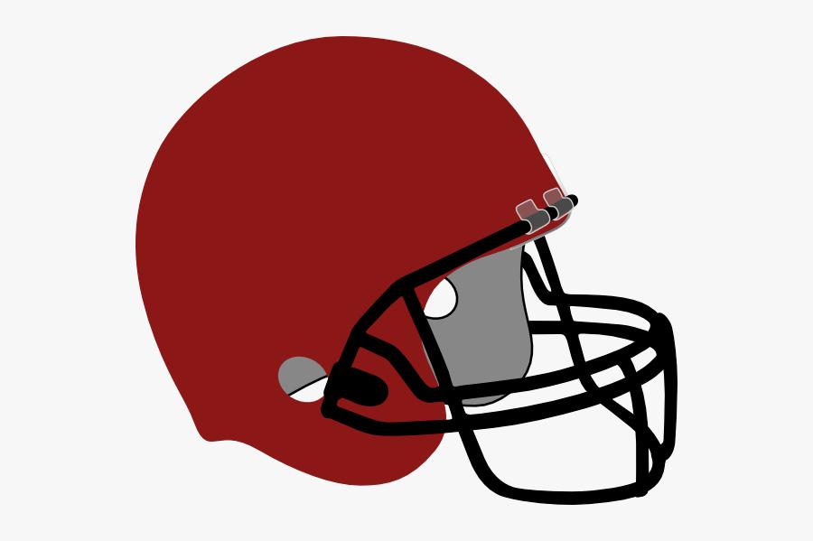 Football Helmet 2 Svg Clip Arts - Transparent Background Football Helmet Clipart, Transparent Clipart