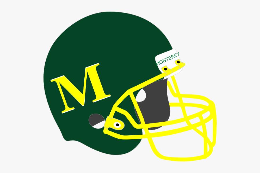 Clip Art Football Helmets, Transparent Clipart