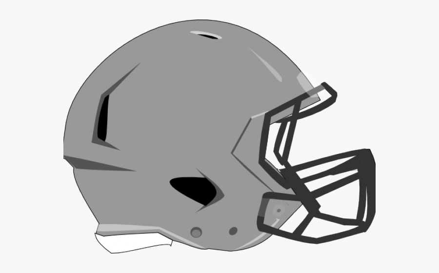 Football Helmet Clipart - Side View White Football Helmets, Transparent Clipart