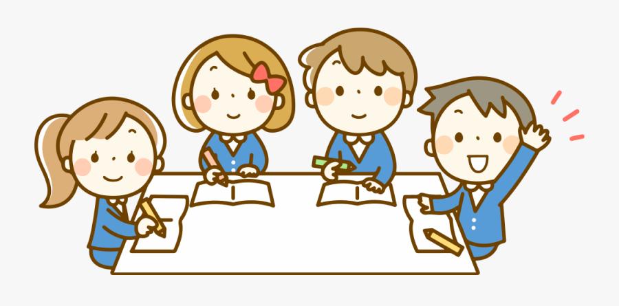 Transparent Student Raising Hand In Class Clipart - Clipart Images Of Students, Transparent Clipart