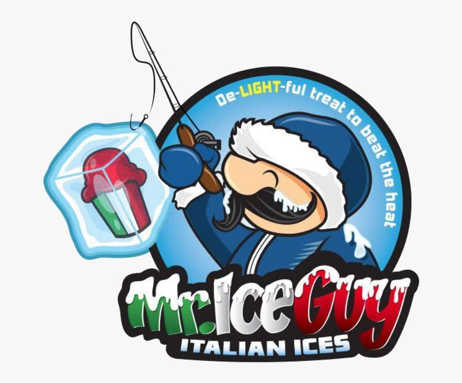 Ice Guy Italian Ices Llc Clipart , Png Download - Mr Ice Guy, Transparent Clipart